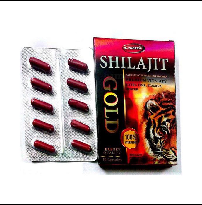 Dr Chopra Shilajit Gold Capsule