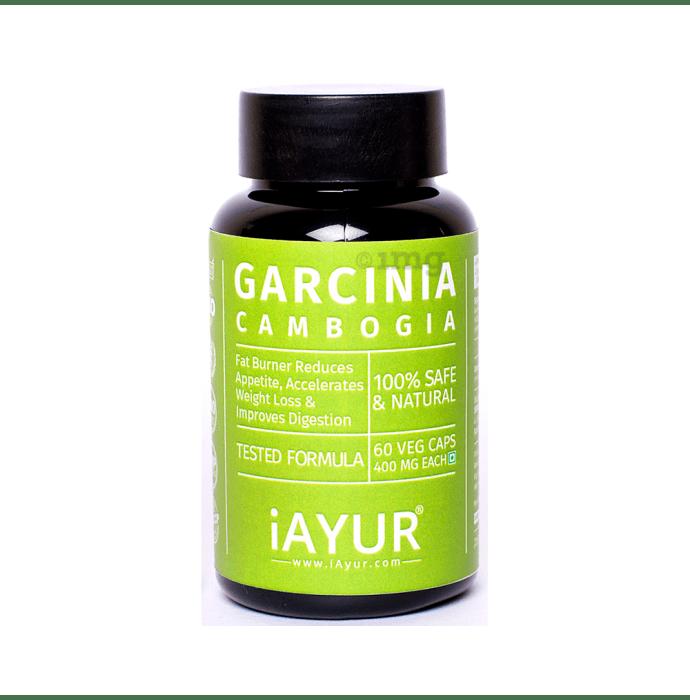 iAYUR Garcinia Cambogia Extract 400mg Veg Capsule