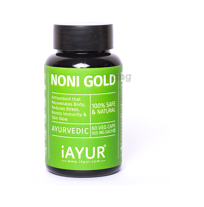 iAYUR Noni Gold Extract 500mg Veg Capsule