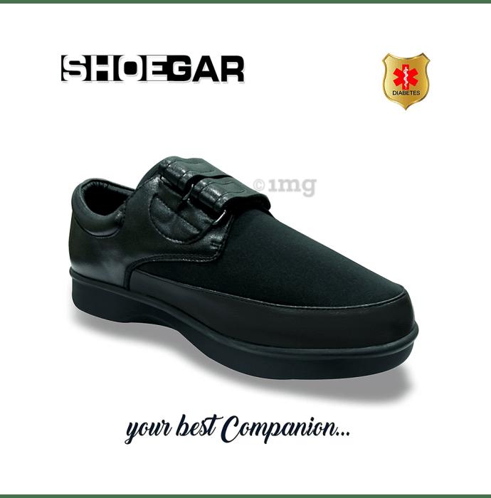 Shoegar SG-M-1991 Men's Formal Double Strap Diabetic Pair of shoes UK 10