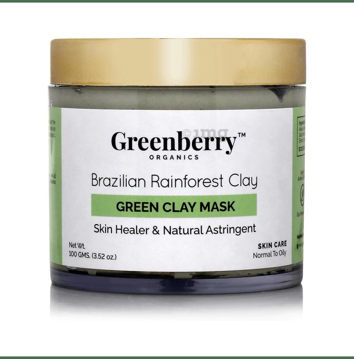 Greenberry Organics Brazilian Rainforest Clay Green Clay