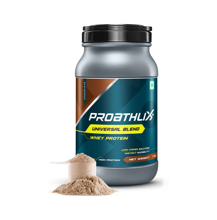 Proathlix Universal Blend Whey Protein Powder Chocolate