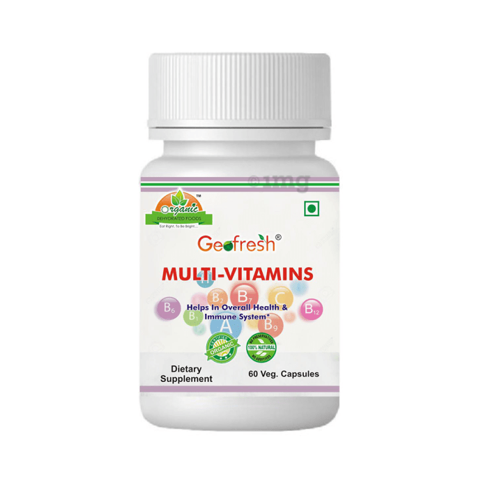 Geofresh Natural Multi-Vitamins Veg Capsule