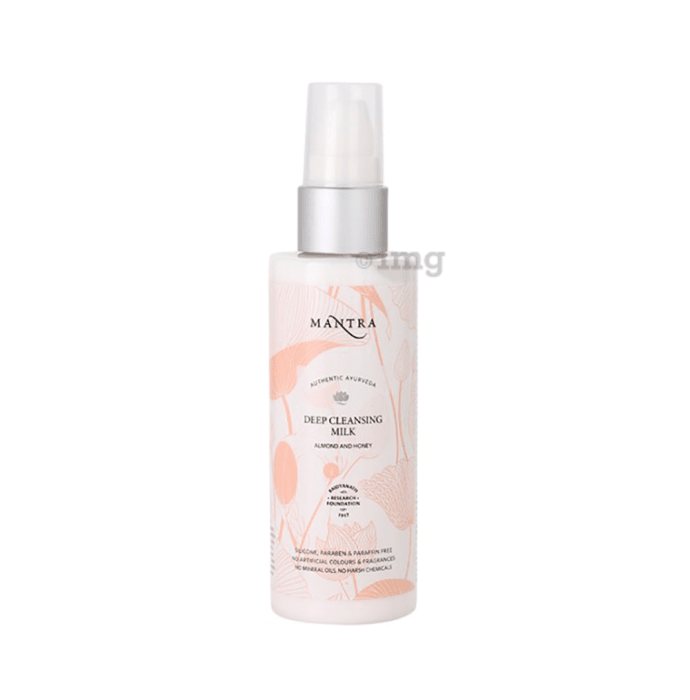 Mantra Almond and Honey Deep Cleansing Milk