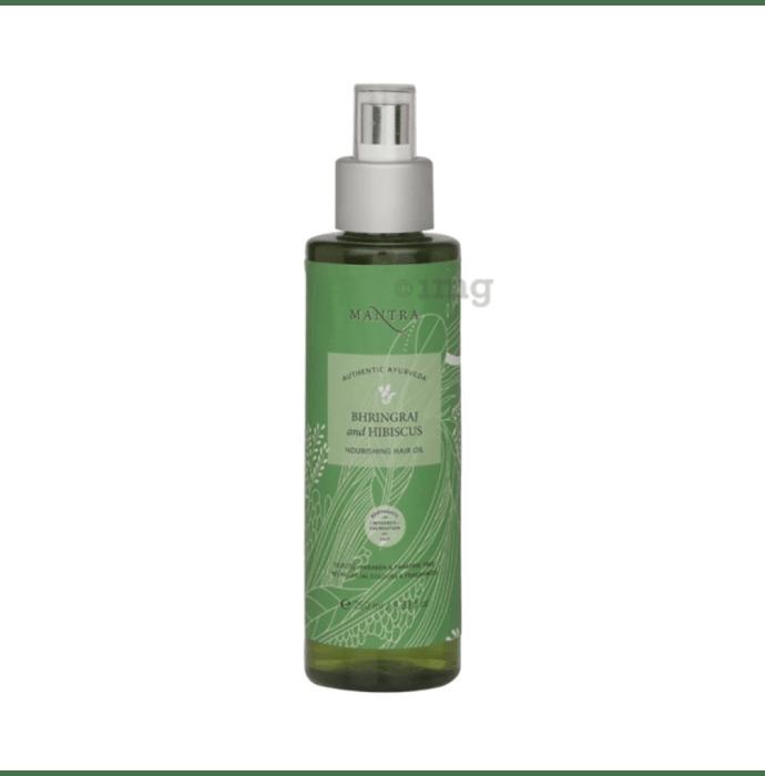 Mantra Bhringraj and Hibiscus Nourishing Hair Oil
