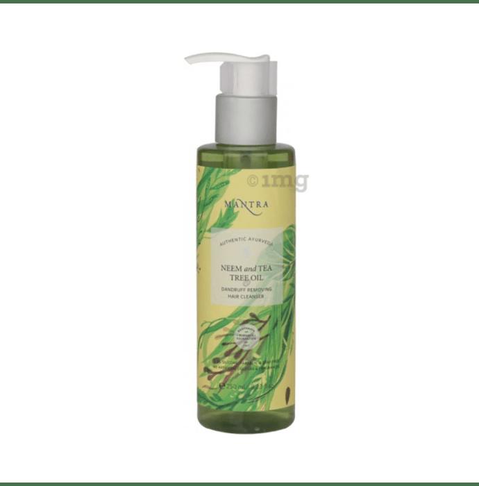 Mantra Neem and Tea Tree Oil Dandruff Removing Hair Cleanser
