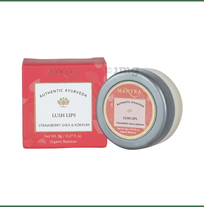 Mantra Lush Lips Strawberry Shea & Kokkum Lip Balm