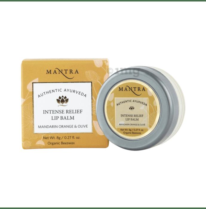 Mantra Mandarin Orange & Olive Intense Relief Lip Balm