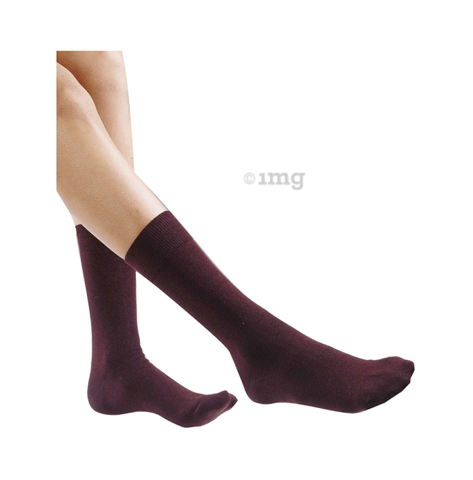 No Smell Sox 2401 Smell Free Socks Universal Brown