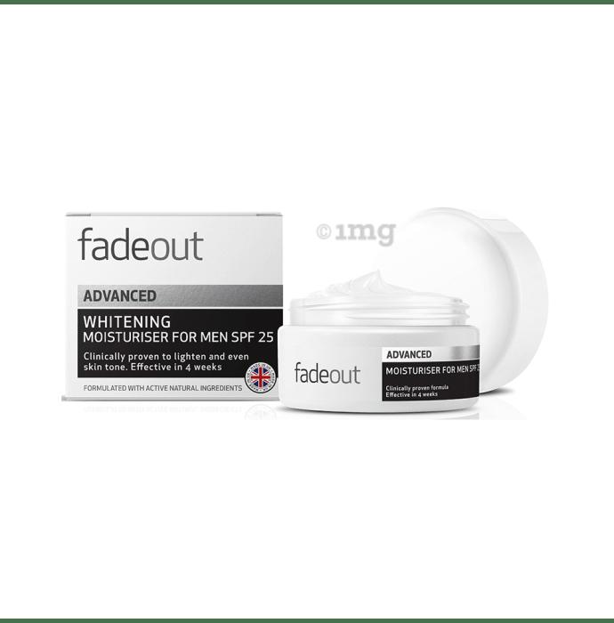 Fadeout Advanced Whitening Moisturiser for Men SPF 25