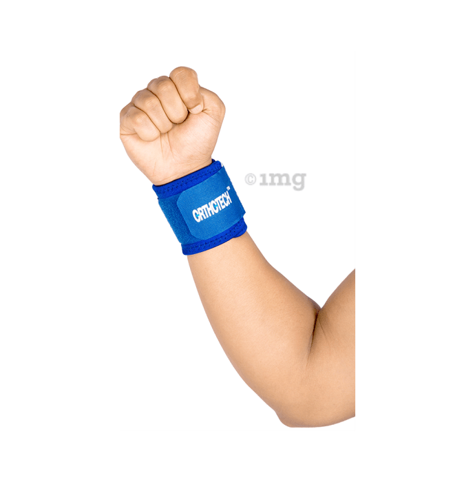 Orthotech OR-5110 Neoprene Wrist Support Blue