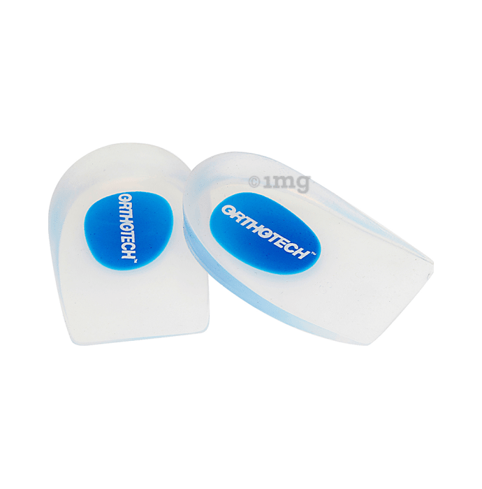 Orthotech OR-7009 Silicon Heel Pad L Transparent