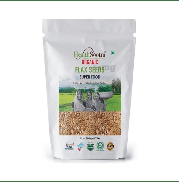 Healthsootra Organic Flax Seeds