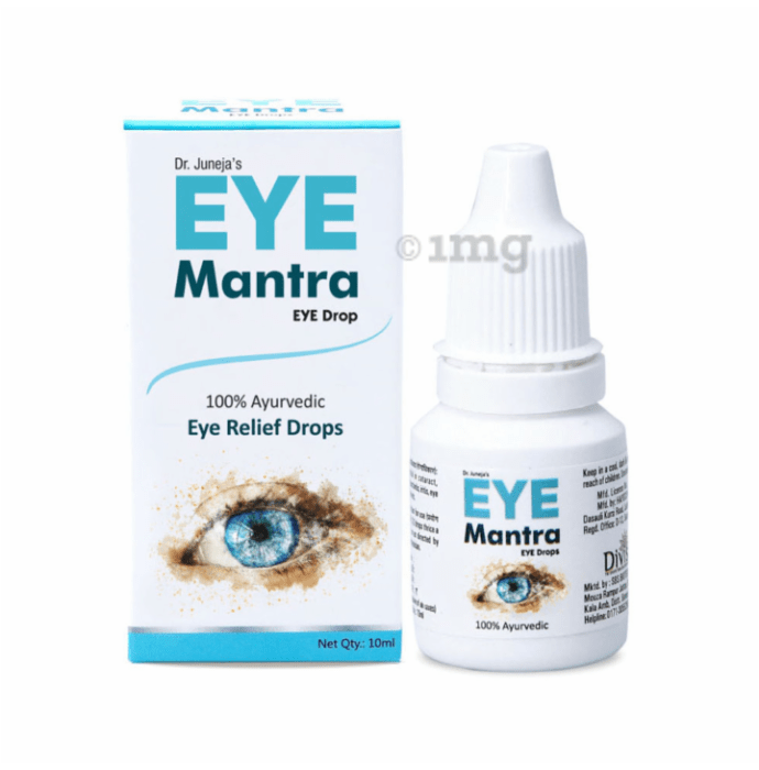Divisa Herbal Eye Mantra Eye Drop