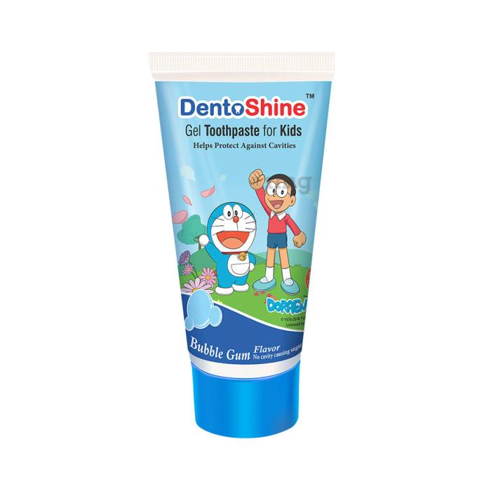 DentoShine Gel Toothpaste for Kids Bubblegum Doraemon