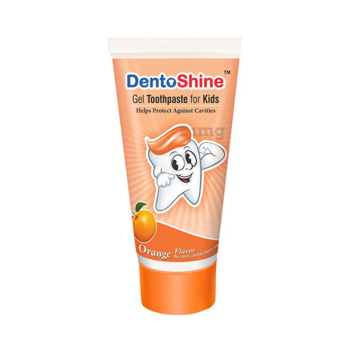 DentoShine Gel Toothpaste for Kids Orange