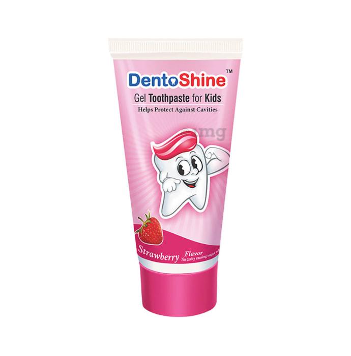DentoShine Gel Toothpaste for Kids Strawberry