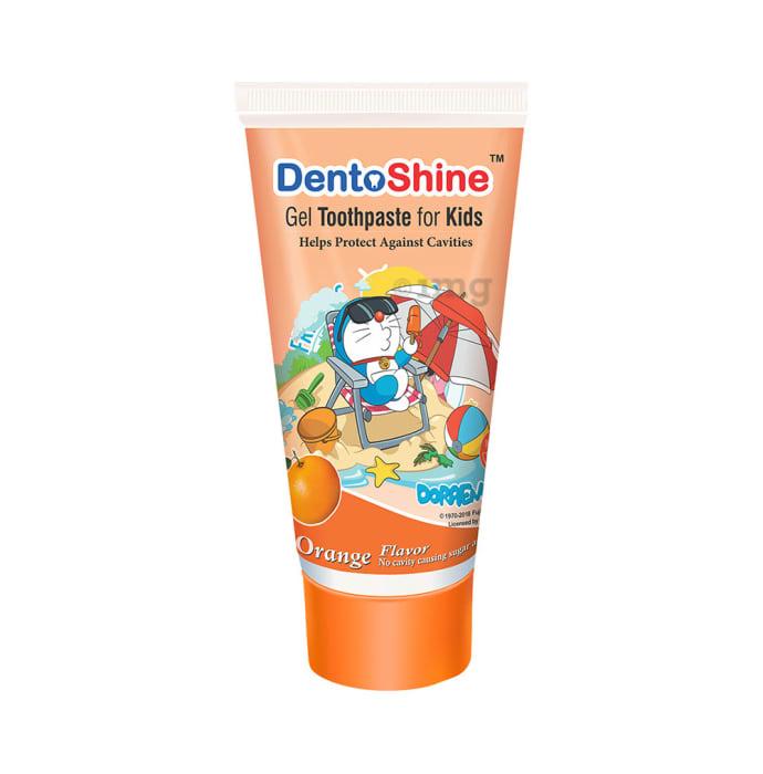 DentoShine Gel Toothpaste for Kids Orange Doraemon