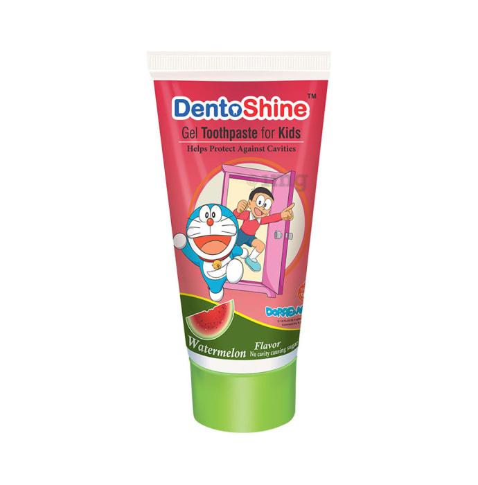 DentoShine Gel Toothpaste for Kids Watermelon Doraemon