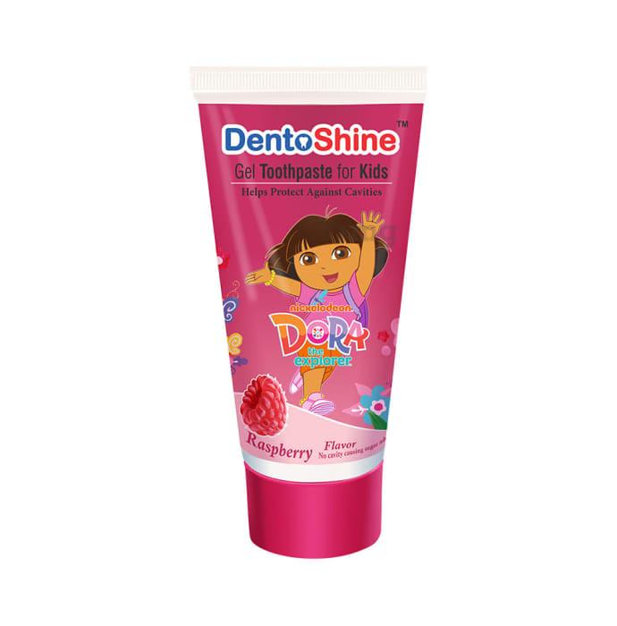 DentoShine Gel Toothpaste for Kids Raspberry Dora