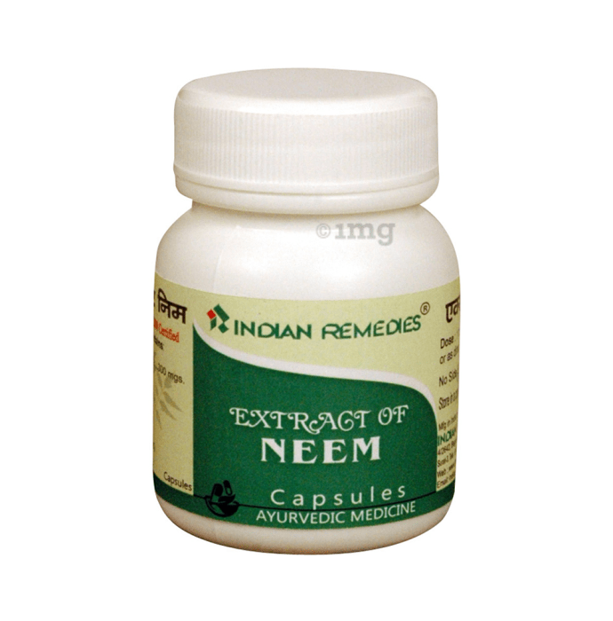 Indian Remedies Extract of Neem Capsule
