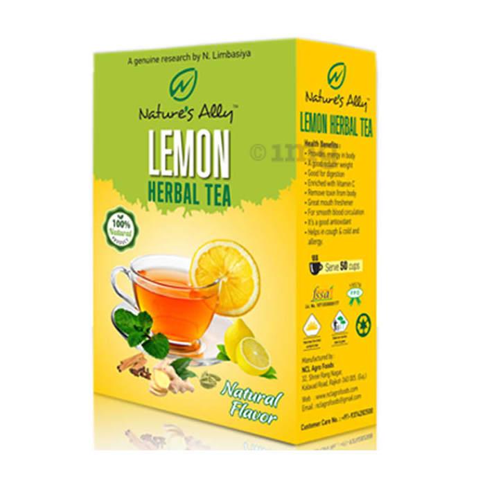 Nature's Ally Lemon Herbal Tea