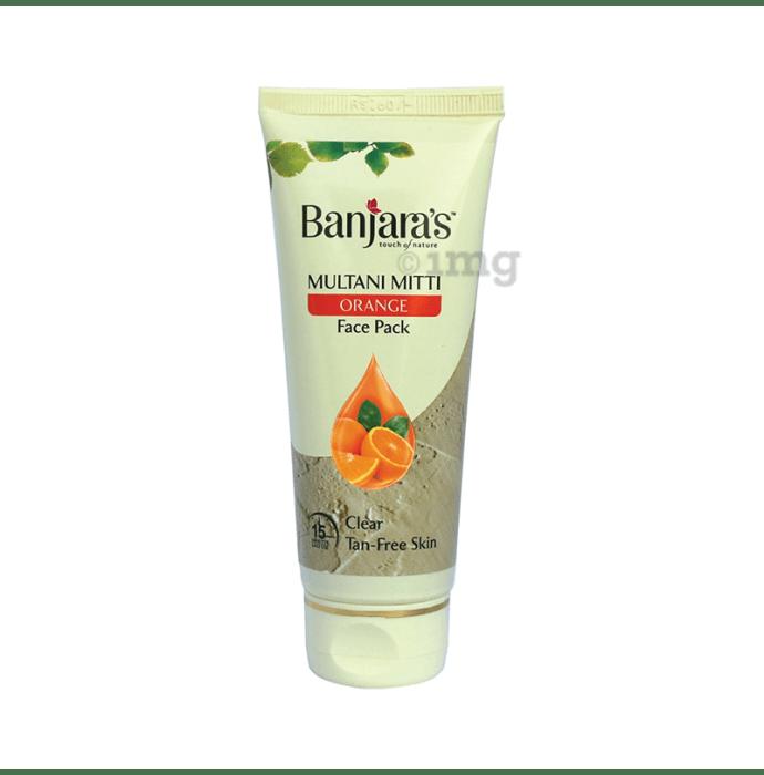 Banjara's Multani Mitti Face Pack Orange