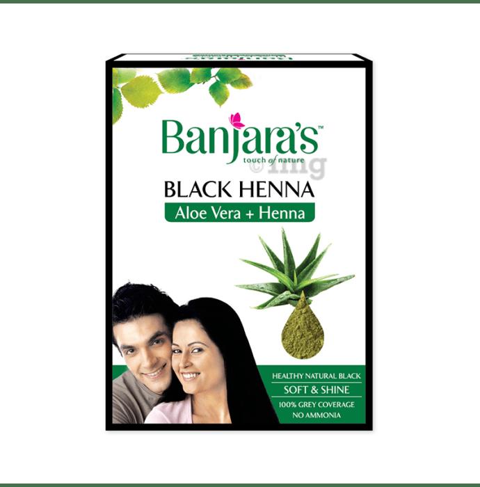 Banjara's Black Henna Aloevera