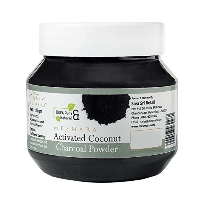 Mesmara Activated Coconut Charcoal Powder