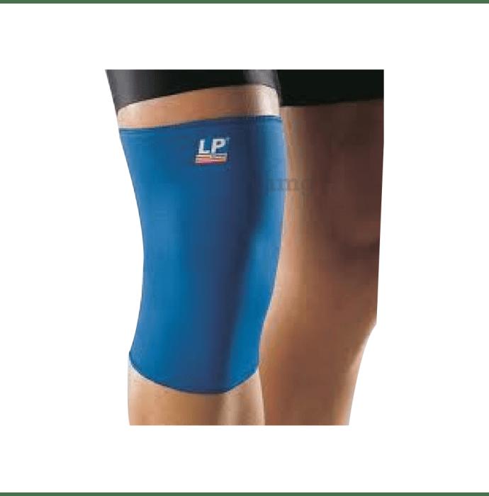 LP 706 Knee Support Closed Patella Single Large Blue