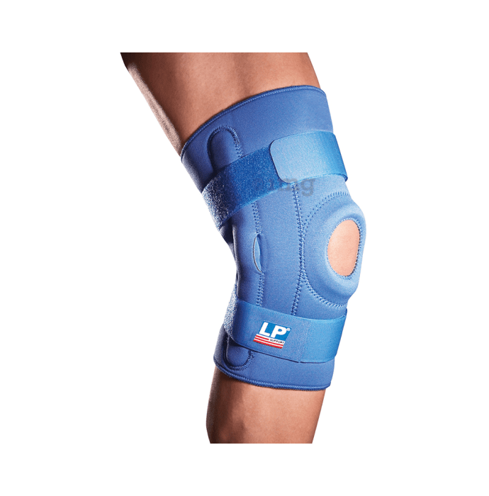 LP 710 Hinged Knee Support Single XL Blue