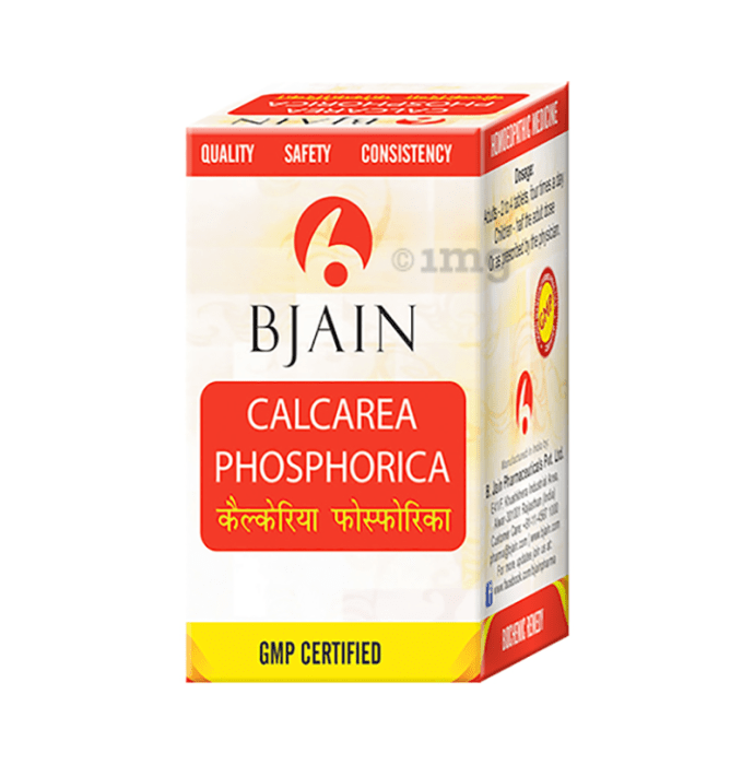 Bjain Calcarea Phosphorica Biochemic Tablet 6X