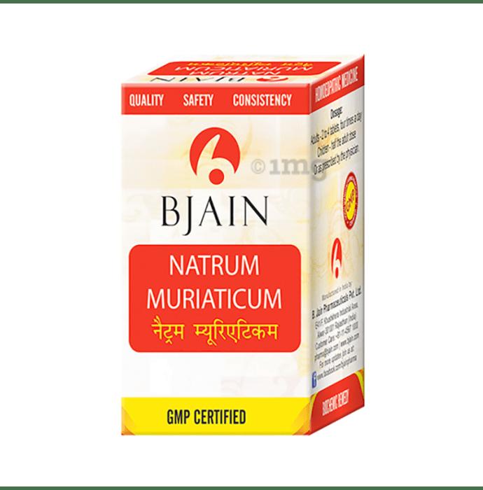Bjain Natrum Muriaticum Biochemic Tablet 12X