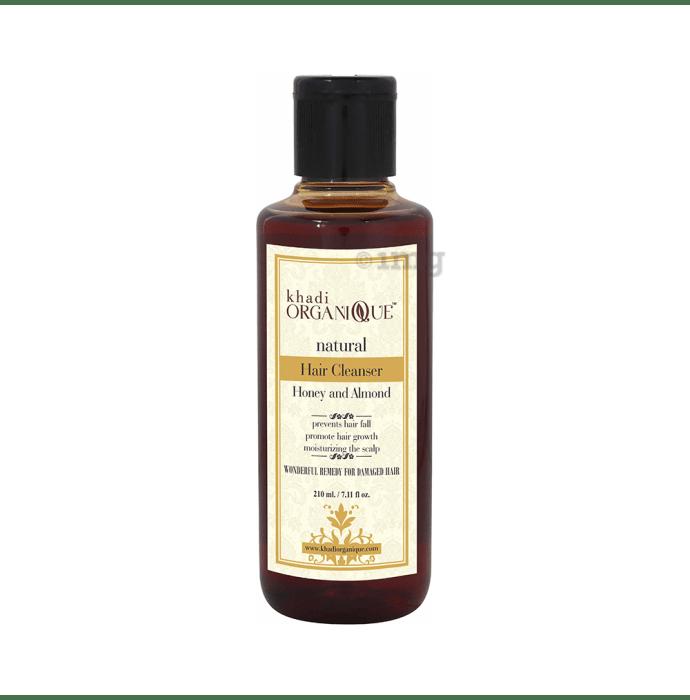 Khadi Organique Natural Shampoo Honey Almond
