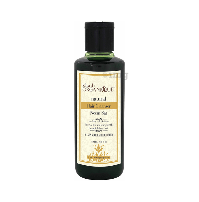 Khadi Organique Natural Shampoo Neem Sat
