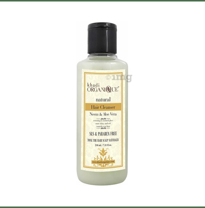 Khadi Organique Natural Shampoo Neem Aloe Vera SLS Paraben Free
