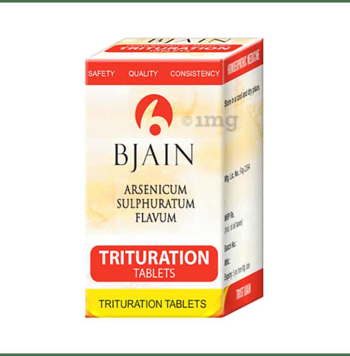 Bjain Arsenicum Sulphuratum Flavum Trituration Tablet 6X