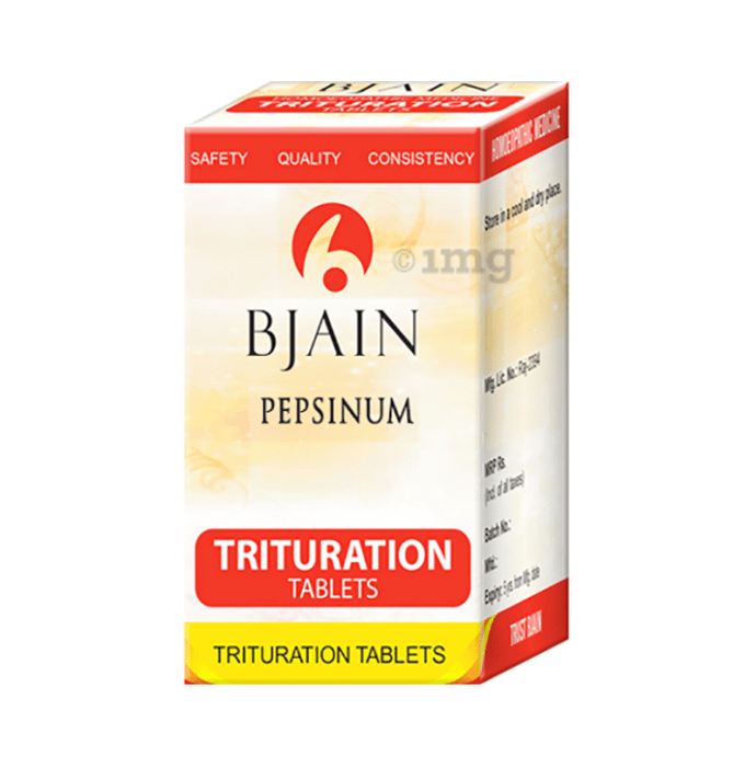 Bjain Pepsinum Trituration Tablet 6X