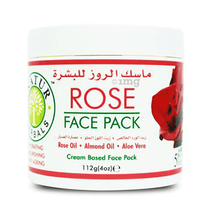 Inatur Herbals Face Pack Rose