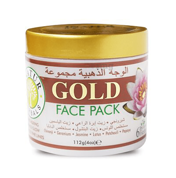 Inatur Herbals Face Pack Gold