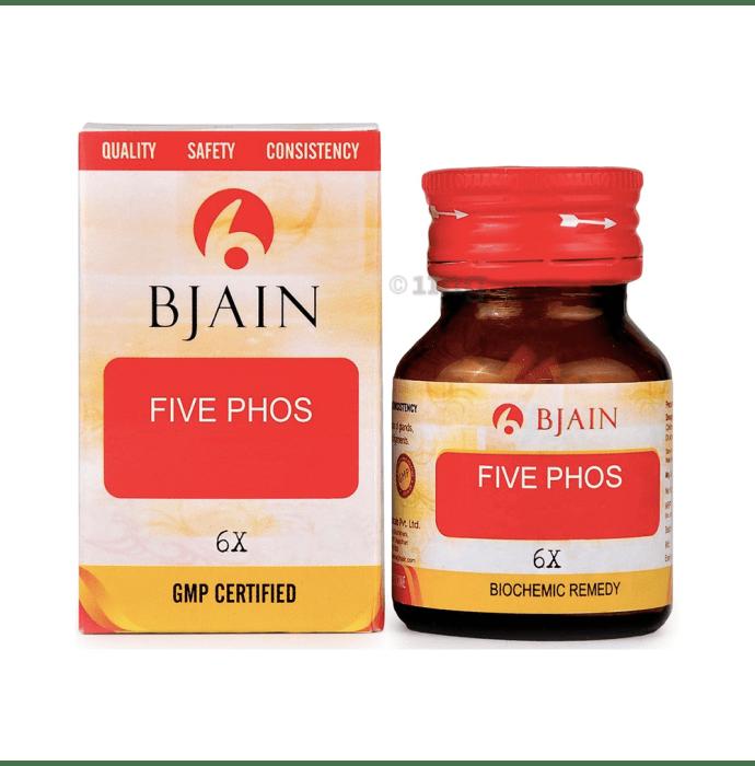 Bjain Five Phos Biochemic Tablet 6X