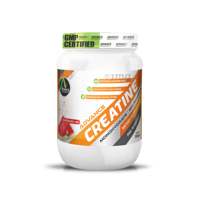 Advance Nutratech Creatine Monohydrate Powder Watermelon