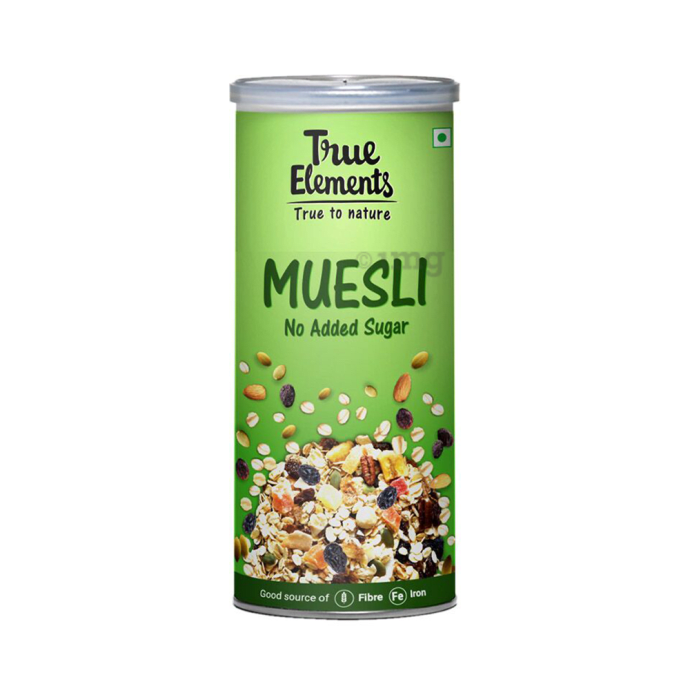 True Elements Muesli No Added Sugar