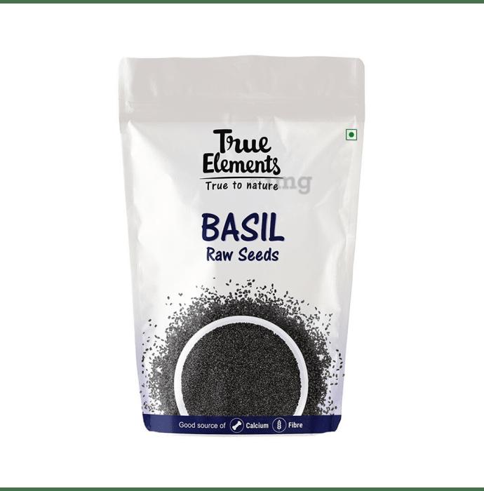 True Elements Basil Raw Seeds