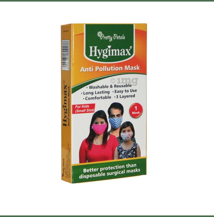 Pretty Petals Hygimax Anti Pollution Mask for Kids Small