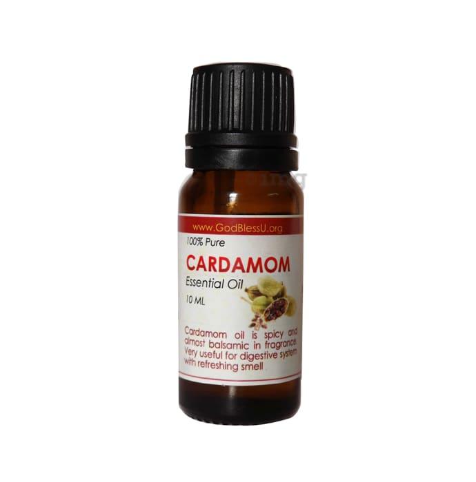 God Bless U 100% Pure Essential Oil Cardamom
