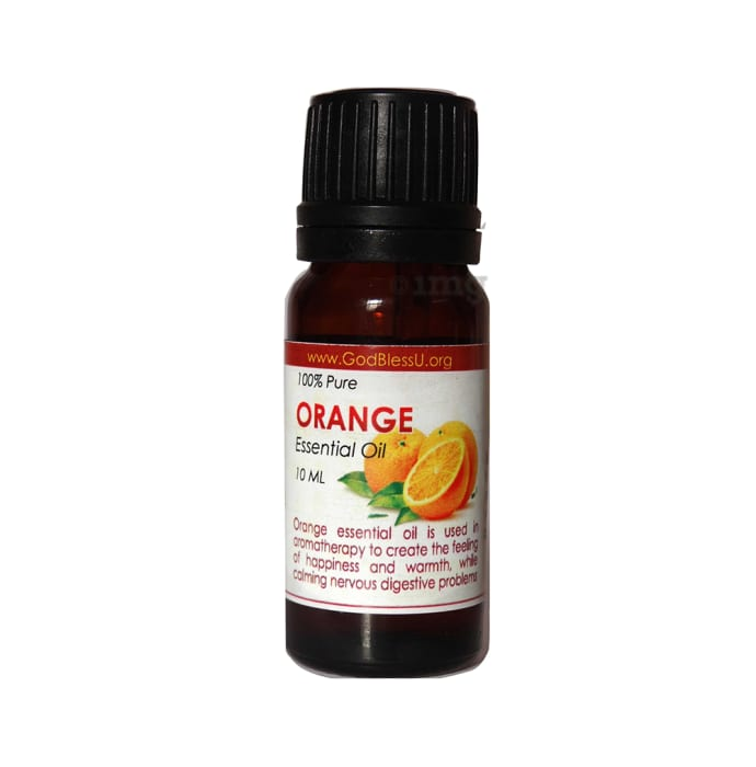 God Bless U Orange 100% Pure Essential Oil