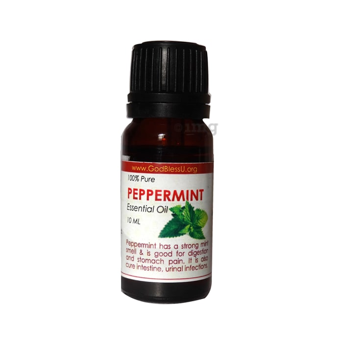 God Bless U Peppermint 100% Pure Essential Oil