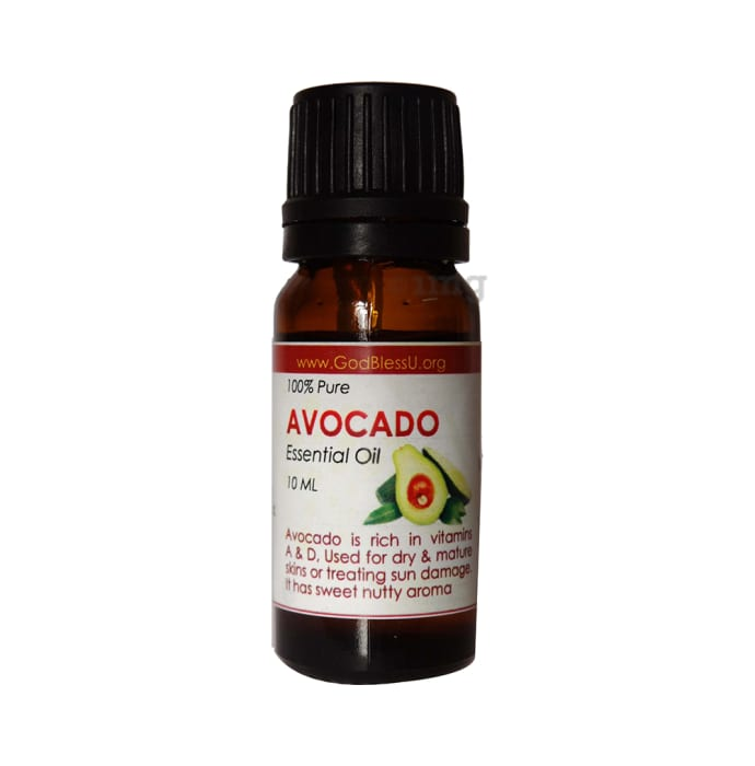 God Bless U 100% Pure Essential Oil Avocado