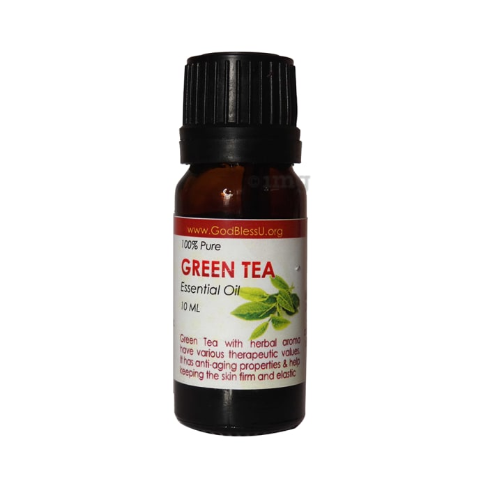 God Bless U 100% Pure Essential Oil Green Tea